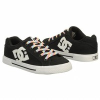Athletics DC Shoes Women's Chelsea Black/ White FamousFootwear.com