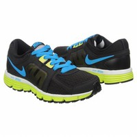 Athletics Nike Women's Dual Fusion Black/Blue/Volt FamousFootwear.com