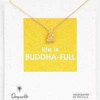 Dogeared 'Reminder - Life is Buddha-Full' Boxed Pendant Necklace | Nordstrom