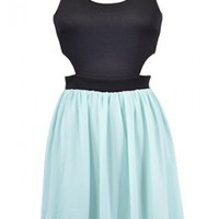 The Mint Cut Out Summer Dress - 29 N Under
