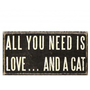 Love Cat Plaque $7.95