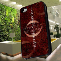 a perfect circle in red Case for iPhone 4,iPhone 4s,iPhone 5,iPhone 5s,iPhone 5c,Samsung Galaxy s2 / s3 / s4