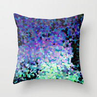 Sapphire Island Throw Pillow by Catherine Holcombe