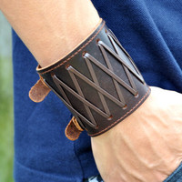 fashion Adjustable Leather Woven Bracelets mens bracelet cool bracelet jewelry bracelet bangle bracelet cuff bracelet 2302s