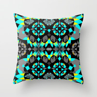Mix #164 Throw Pillow by Ornaart