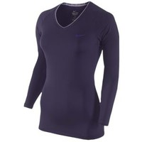 Nike Pro L/S V-Neck II - Women's at Lady Foot Locker