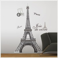 Eiffel Tower - Peel N Stick Dorm Decor - College Supply Checklists Essentials
