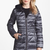Bernardo Hooded Packable Goose Down Walking Coat (Regular & Petite) (Nordstrom Exclusive) | Nordstrom