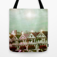 Painted Ladies - remix Tote Bag by Suzanne Kurilla