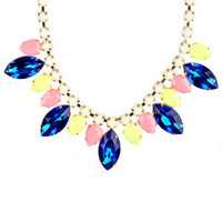 Opaque/Translucent Gem Necklace