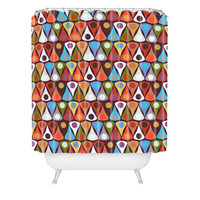 Sharon Turner Felted Tordot Shower Curtain