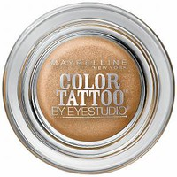 Maybelline EyeStudio Color Tattoo 24Hr Eyeshadow, Bold Gold