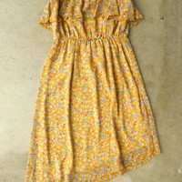 En Petit Floral Dress [3076] - $27.20 : Vintage Inspired Clothing & Affordable Dresses, deloom | Modern. Vintage. Crafted.