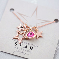 Design Your Own Personalised Star Necklace