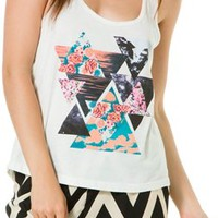 BILLABONG WE AND THEM AND US RACER BACK TANK