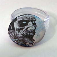 Black Friday, Shop Local Saturday, and Cyber Monday Sale// Comic Book 1.5 Button// Walking Dead// Zombie