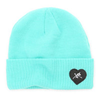 Young and Reckless Logo Beanie at PacSun.com