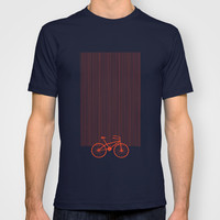 Red Bike T-shirt by friztin