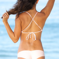 The Girl and The Water - Posh Pua 2014 - Niu Bikini Bottom Plumeria - $62