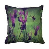 Lavender and Bee Pillow