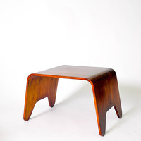 Bent Plywood Side Table