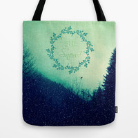 Let it Snow in the Mountains! Tote Bag by RDelean