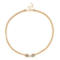 Jon Richard Online exclusive crystal leopard gold chain necklace - Jon Richard from Jon Richard UK