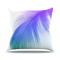 KESS InHouse Feather Throw Pillow