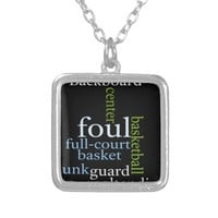 Basketball Sports Fanatic.jpg Custom Necklace