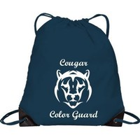 Cougar Color Guard: Custom Drawstring Bag