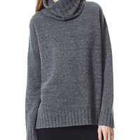 THEORY Dreeden Sweater in Avalon Stretch Wool