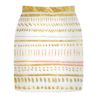 Gold Tribe Skirt