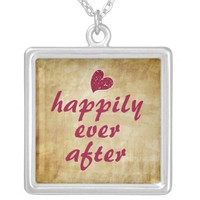 Romantic Happily Ever After Necklace