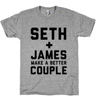 Seth and James Make a Better Couple - Franco and Rogen Bound funny parody Tshirt of Bound