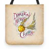 Golden Snitch Tote