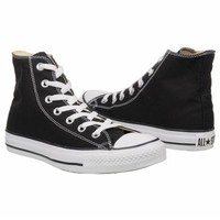 Athletics Converse Men's Chuck Taylor All Star Hi Black/Black FamousFootwear.com