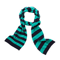 Stripe Scarf With Lurex