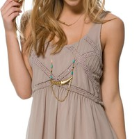 BILLABONG ANYONE THERE CHIFFON TANK DRESS
