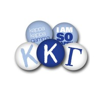 Kappa Kappa Gamma Sorority Button Set