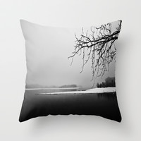 One Winter Morning Throw Pillow by Ann B.