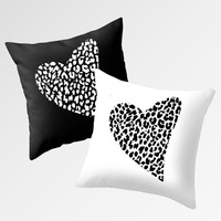 Wild Heart Pillows by M Studio - Each Sold Separately