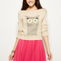 Pink & Grey Dot Skater Skirt