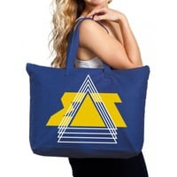 Sigma Delta Tau Canvas Tote Bag - Throwback