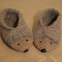 Hedgehog slippers socks shoes