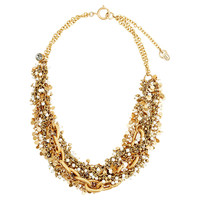 Pearl & Chunky Chain Layered NecklaceLA VIE PARISIENNE
