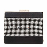 ShoeDazzle Drama Box Clutch