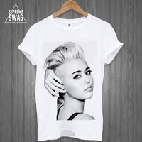 Miley Cyrus Wrecking Ball Mens TWERK swag hipster T-SHIRT new FRESH womens homies dope music pop fresh tank top