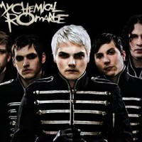 "My Chemical Romance Music Band Group Fabric Poster Print 17""x13"""