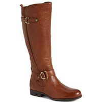 Naturalizer 'Jersey' Leather Riding Boot (Wide Calf) (Online Only) | Nordstrom