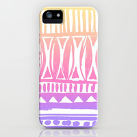 It's Just Me iPhone & iPod Case by Pink Berry Pattern